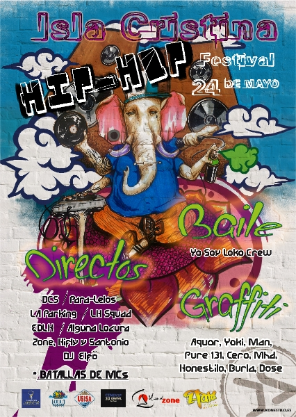 hiphop-festival-2013 Isla Cristina (Huelva)